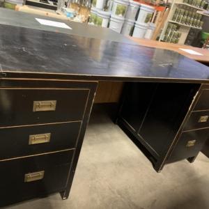 Black 3pc Desk